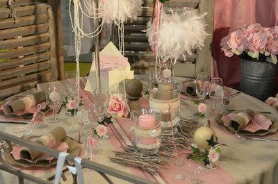 Decodefete vous révèle tout sur les tendances décoration de mariage 2015 !