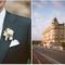 Un boutonniere clásico y en completa armonía con el look de la novia - Foto Aaron Delesie