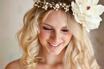 Floral head wreaths for Brides