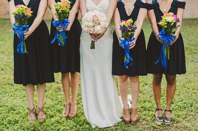 Todas las tendencias para damas de boda 2017