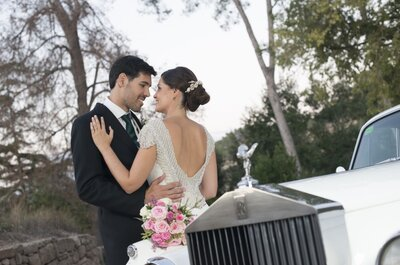 Romance londinense: la boda de Gemma y Juan
