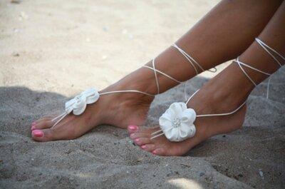Barefoot Sandals for Beach Weddings