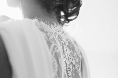 Prachtige foto´s van bruidskapsels: een sfeerimpressie
