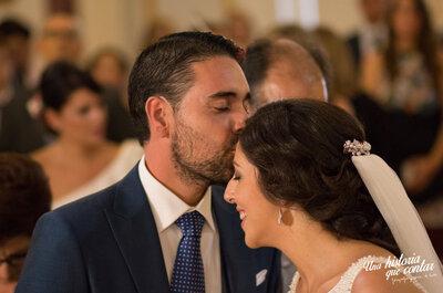 Él vive en mí: la boda de Antonio y Silvia
