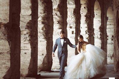 Lo Studio Fotografico Santoni, il punto di riferimento per chi si sposa a Roma