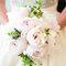 Brautsträusse in zarten Pastelltönen