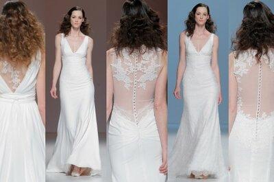 Tendencias 2015: Vestidos de novia con la espalda al aire