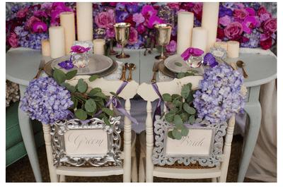 Real Wedding: La boda de tus sueños con preciosos acentos en Radiant Orchid