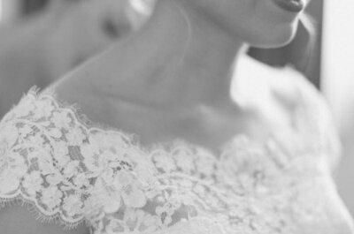 Opções lindas para o decote do seu vestido de noiva