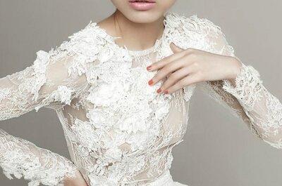 2014: a vez dos vestidos de noiva com manga