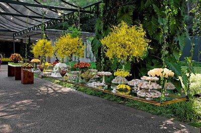 Lindas orquídeas no seu casamento - por Lais Aguiar