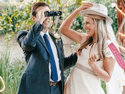 La boda más original inspirada en un safari