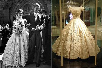 Look de primeira-dama poderosa no seu casamento? Se inspire em Jackie Kennedy!