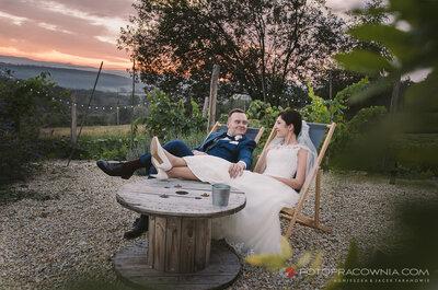 Poczujesz się jak w Toskanii...piękne wesele pod Krakowem!