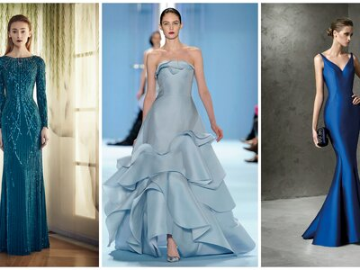 Blue Full-Length Gowns: A Versatile and Elegant Outfit for the Most Elegant Wedding Guest