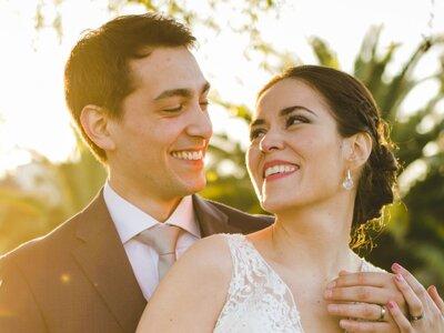 Ornella y Gonzalo, una boda color rosa en primavera