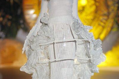 Un viaje al pasado con estilo cortesano: Vestidos de novia primavera 2015 de Inmaculada García