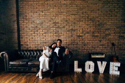 4 buone ragioni per scegliere lo stile 'industrial' per il vostro matrimonio