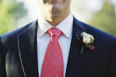 Flores para a lapela do noivo