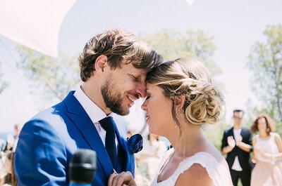 Una boda con vistas al mar: el gran día de Coco y Luis