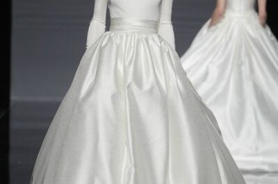 Suknie ślubne 2014: kolekcja Rosa Clará