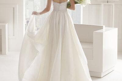 Brautkleider mit freiem Rücken