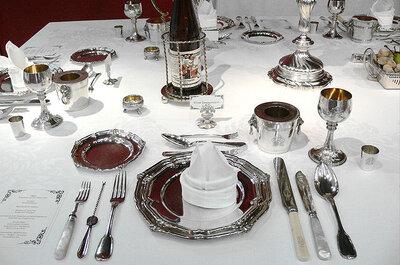 Protocolo: aprende a poner la vajilla para un servicio en la mesa