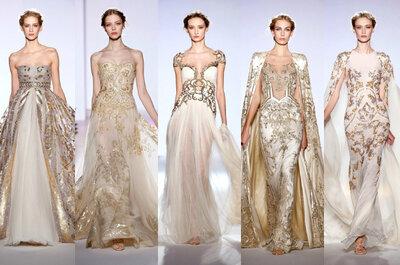 Le proposte più glamour per la sposa dalle passerelle Haute Couture 2013