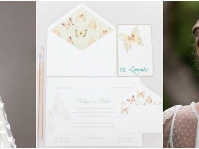Schmetterlinge für Ihre Hochzeit 2017 – Mit diesen Details & Accessoires den perfekten Hochzeitsstil finden
