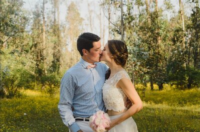 Ítalo y Javiera, la mejor boda