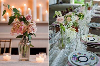 Una boda shabby-chic llegada de Inglaterra, ¡copia sus detalles!