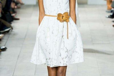 Michael Kors 2015: Faldas y vestidos de fiesta perfectos para una boda 2015 al aire libre