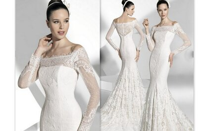 L'abito da sposa della settimana: Franc Sarabia 2013