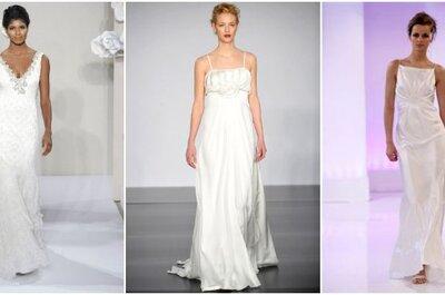 Abiti da sposa a sottoveste: una selezione per il 2014