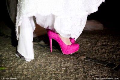 Zapatos de novia de mujeres reales