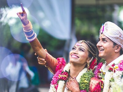 Charismatic Real Wedding of Madhura and Puneeth: The one with some amazing charm