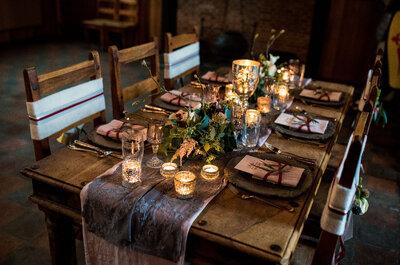 Hoe kies je de tafelkleden voor je bruiloft?