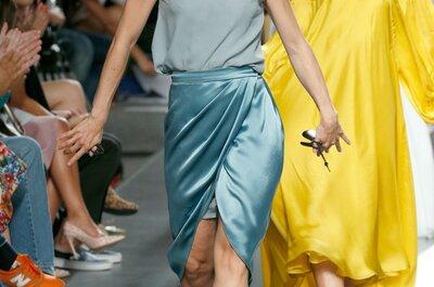 Duyos Primavera/Verão 2015: Tecidos vaporosos com movimento sensual