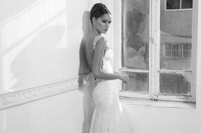 Wyjątkowe projekty sukien ślubnych Inbal Dror
