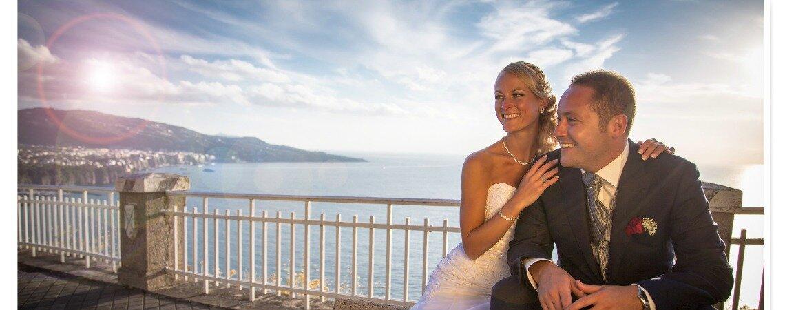 """""""That's amore"""": il matrimonio italo-americano di Antonio e Denise"""