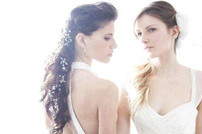 Cómo diseñar el peinado de novia ideal, por Kelo Puime