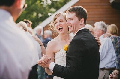 4 tips para escoger la canción para el primer baile de bodas