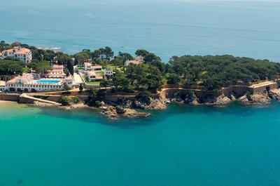 L'Hostal de la Gavina de Barcelone, pour un mariage célébré dans le luxe et l´élégance.