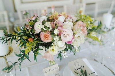 Flower power: 4 tipos de arranjos florais que tem mesmo de ter no seu casamento