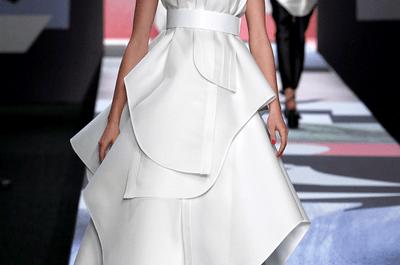 Viktor & Rolf: Obras de arte hechas vestidos de novia extravagantes