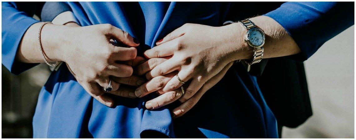 Los mejores complementos para una pareja de azul