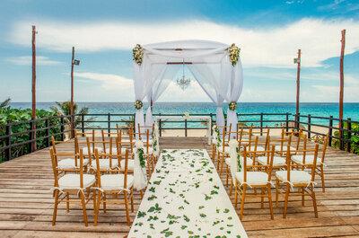 Un sueño hecho realidad: la boda perfecta frente al mar turquesa
