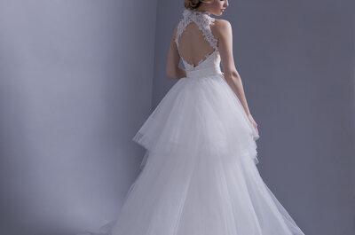 La collection 2015 Hervé Mariage : des robes de mariée alliant délicatesse et raffinement
