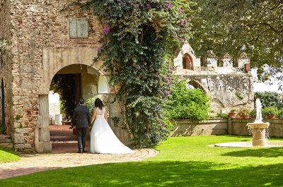 Castell de L'Oliver: comodidad y exclusividad para tu boda en un entorno idílico