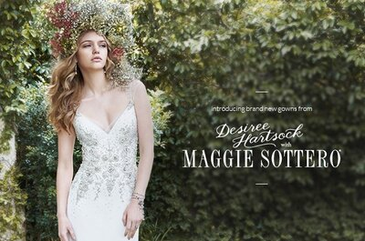 Desiree Hartsock with Maggie Sottero Spring 2015 Bridal Collection - Video